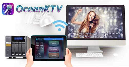 QNAP unveils a NAS karaoke system