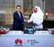 David Wang, CEO, Huawei Dubai and Majed Al Suwaidi, DIC- L2R