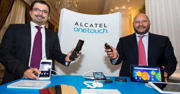 Nauman Durrani, General Manager, Middle East, Alcatel and Ahmed Khalil, General Manager, Middle East and Africa, Alcatel