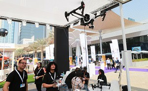 Drones at Gitex