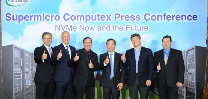 Supermicro exhibits new storage, cloud and NVMe solutions at Computex 2016