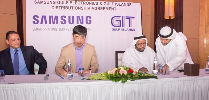 Samsung appoints Gulf Islands Group as distributor