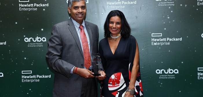 Win for Redington Value at the HPE aruba Channel  Awards 2016