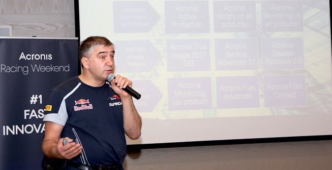 Acronis starts deployment of data protection technology at Scuderia Toro Rosso