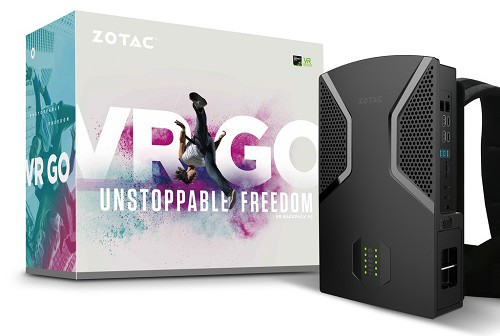 ZOTAC announces VR GO BACKPACK