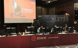 BenQ ZOWIE Monitors Launch Event