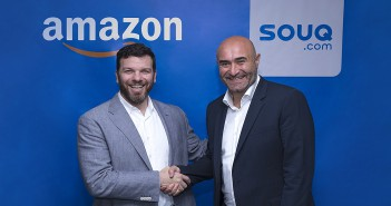 Russ Grandinetti, Amazon Senior Vice President, International Consumer and Ronaldo Mouchawar, CEO and Co-Founder SOUQ.com