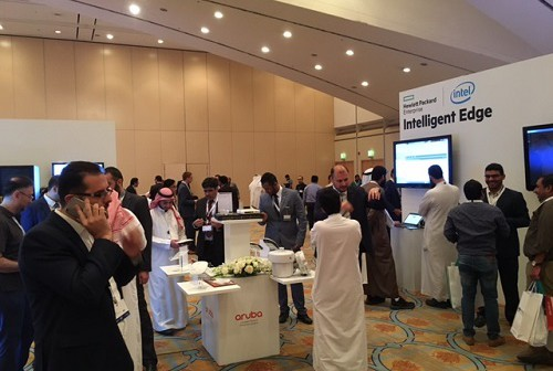 Delegates at HPE Reimagine 2017
