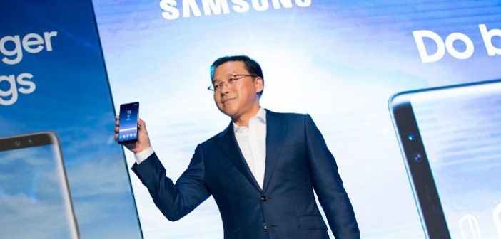 Samsung unveils Galaxy Note8