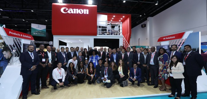 Canon at CABSAT 2018