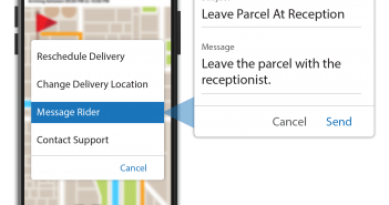 FarEye Delight_Connect & Deliver-Opportunity to change delivery details or reschedule delivery