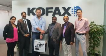 Finesse wins Kofax Robot Challenge