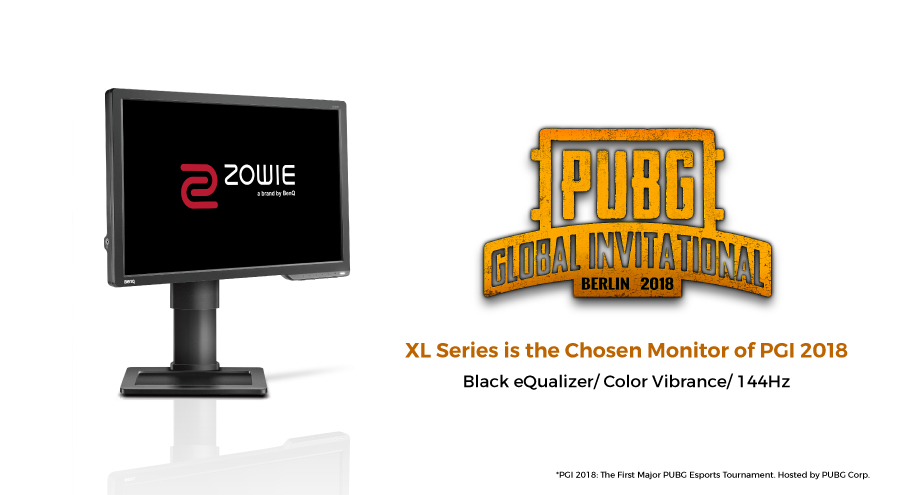 BenQ ZOWIE XL2411P is the chosen monitor of PUBG Global