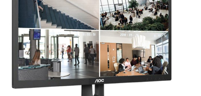 AOC launches brand new E1 series of surveillance monitors